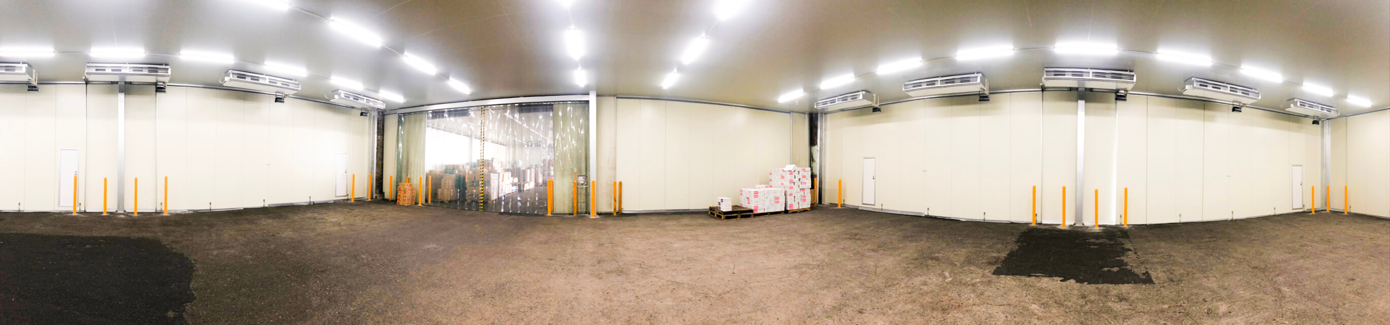 浦和中央青果市場 第5期工事 内観パノラマ画像